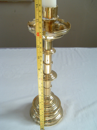 One of the stolen candlesticks - have you seen them?