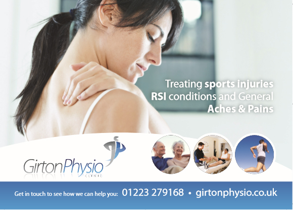 Advertisement for Girton Physio